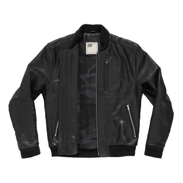 THE MARCY Leather Bomber