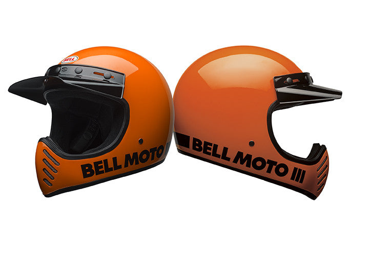 Bell Moto III Classic Orange