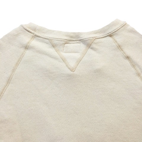JANE ORGANIC COTTON CREWNECK SWEATSHIRT - NATURAL