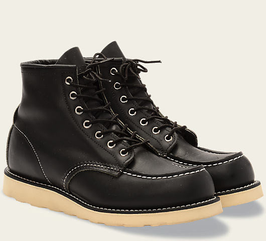 RED WING CLASSIC MOC BLACK style 9075