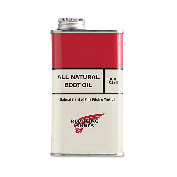 BOOT OIL ALL NATURAL 8 OZ