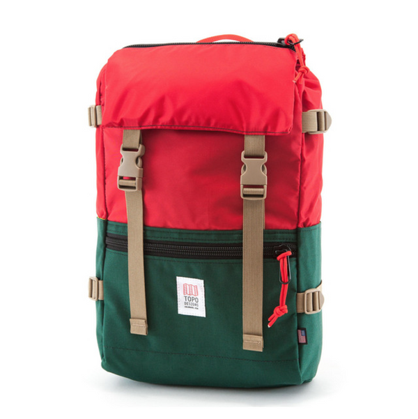 TOPO ROVER PACK - FOREST/RED