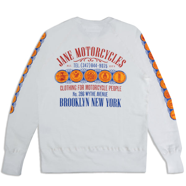 ALL CITY ORGANIC COTTON CREWNECK SWEATSHIRT