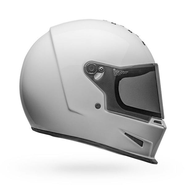 Bell Eliminator Motorcycle Helmet - Gloss White