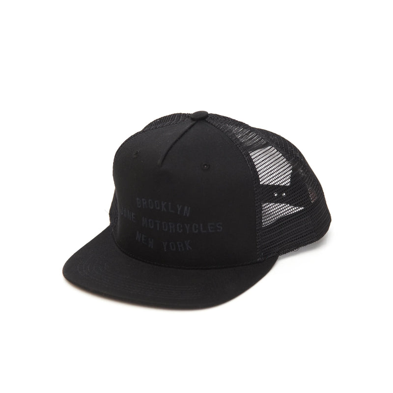 Shop Trucker - Black on Black