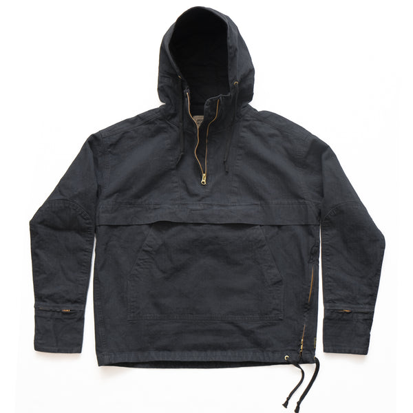 ANORAK - BLACK HERRINGBONE