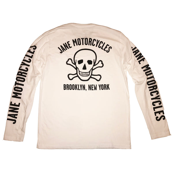 BOWERY SKULL LONG SLEEVE T-SHIRT