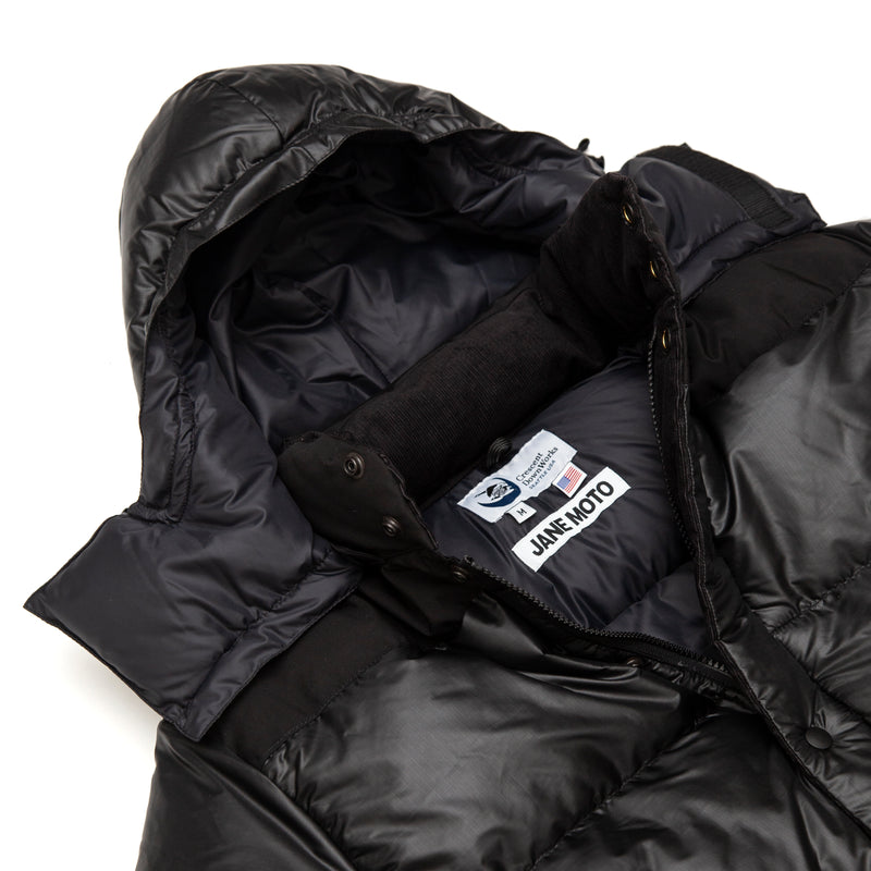 Jane Motorcycles x Crescent Down Works Down Parka