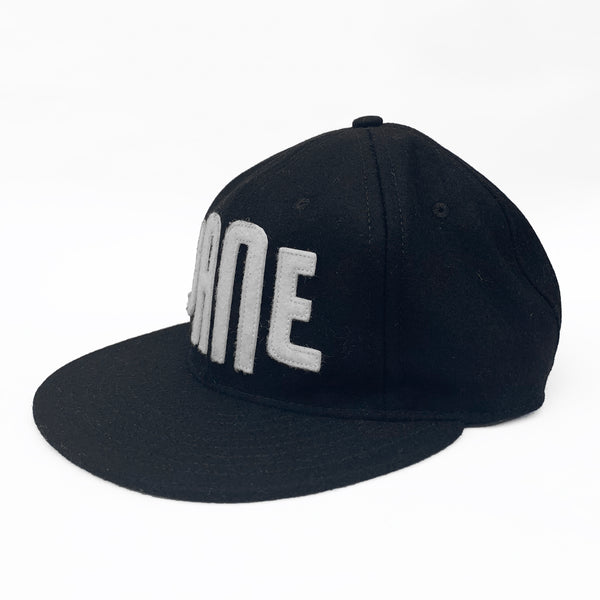 EBBETS FIELD X JANE vintage baseball hat BLACK / WHITE