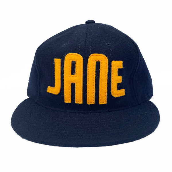 EBBETS FIELD X JANE vintage baseball hat NAVY / GOLD