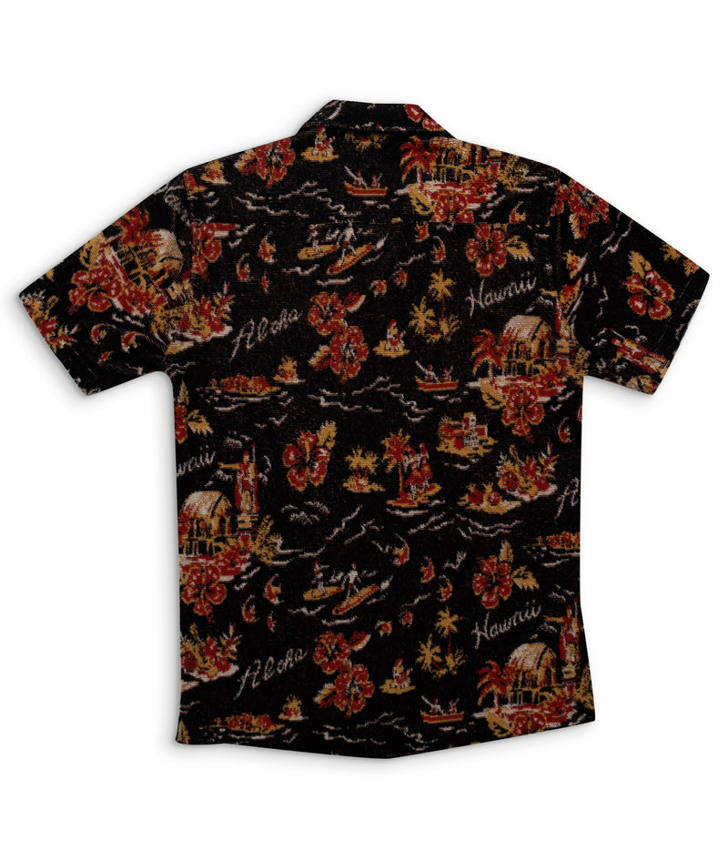 Hawaiian Shirt - Terry Cloth