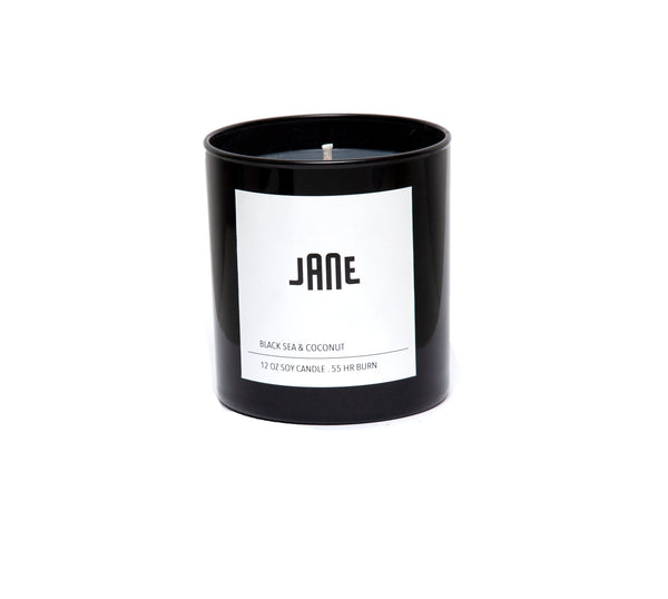 JANE SOY WAX CANDLE - BLACK SEA & AMBER