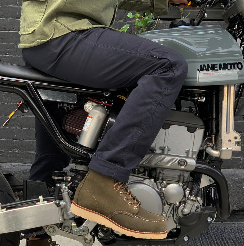 Norman Riding Pants - Navy