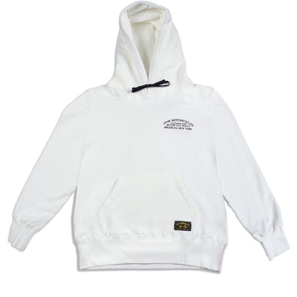 FLYING TIGER ORGANIC COTTON HOODED SWEATSHIRT - WHITE