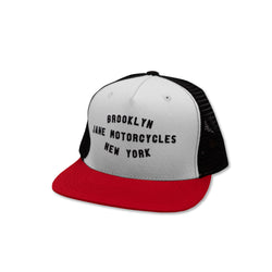 Shop Trucker - Black White Red