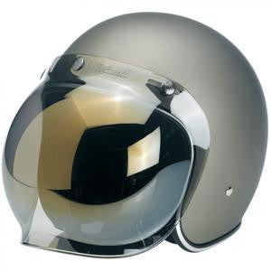 Bubble Shield Gold Mirror Jane Motorcycles