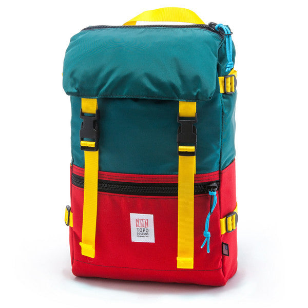 TOPO ROVER PACK - RED/TEAL