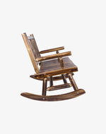 Double Outdoor Rocking Chair