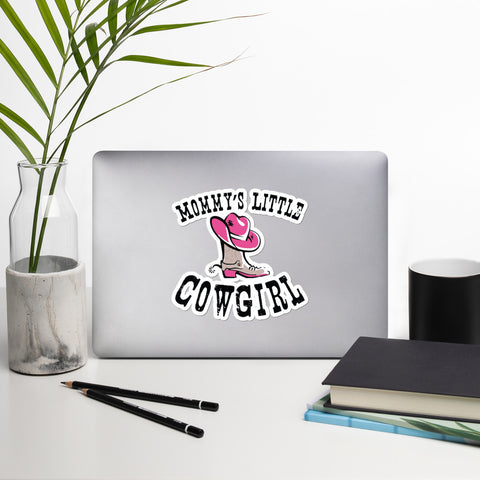 Mommy's Little Cowgirl - Stickers