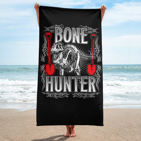 Bone Hunter - Beach Towel