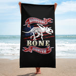 Hardcore Bone Hunter - Beach Towel