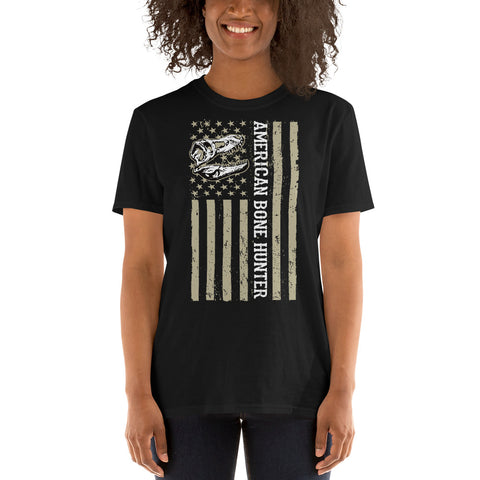 American Bone Hunter - Short-Sleeve Unisex T-Shirt