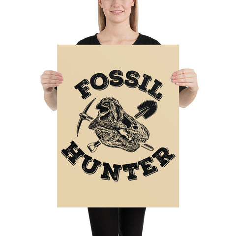 Fossil Hunter - Poster