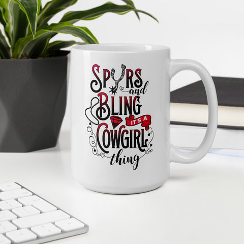 Spurs And Bling - Coffee Mug