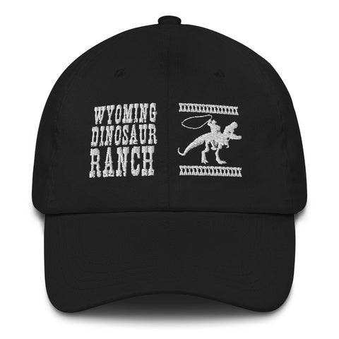 Wyoming Dinosaur Ranch Wanted Poster - Dad Hat