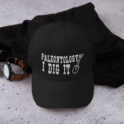 Paleontology I Dig It - Dad Hat