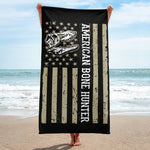 American Bone Hunter - Beach Towel