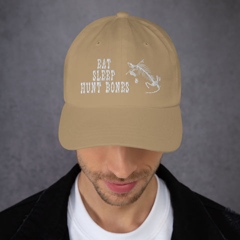 Eat Sleep Hunt Bones - Dad Hat