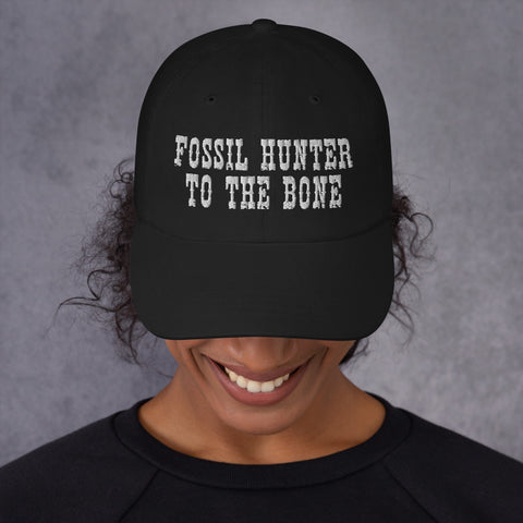 Fossil Hunter To The Bone - Dad Hat