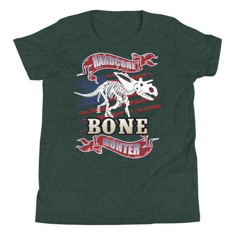 Youth Short Sleeve T-Shirt - Hard Core Bone Hunter