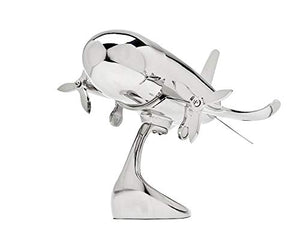 GODINGER SILVER ART Airplane Shaker on Stand