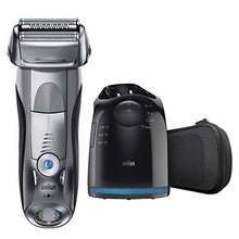 Load image into Gallery viewer, Braun Electric Razor for Men, Series 7 790cc Electric Shaver with Precision Trimmer, Rechargeable, Wet & Dry Foil Shaver, Clean & Charge Station and Travel Case
