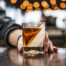 Load image into Gallery viewer, Corkcicle Whiskey Wedge (1 Double Old Fashioned Glass + 1 Silicone Ice Form)