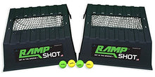 Load image into Gallery viewer, RampShot Game Set- Cornhole on Steroids, Great for Families, Yard, Beach, Tailgate, Camping - Includes 2 Ramps, 4 Balls, 2 Stickers, 2 Nets, and Instructions