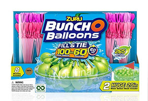 Bunch O Balloons - Ultimate Color Wars Family Pack (8 Pack) Rapid-Filling Self-Sealing Water Balloons (Amazon Exclusive) by Zuru