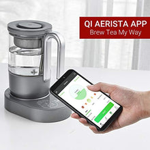 Load image into Gallery viewer, Qi Aerista IoTea Brewer | Award-Winning Smart Tea Brewer | Perfect Tea Maker | 9 Auto Brew Programs | Smartphone App | Herbal Tea | Bubble Tea | Milk Tea | Cold Brew