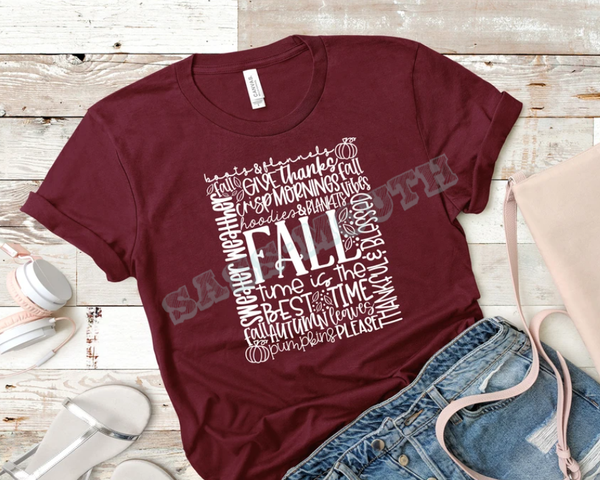 Fall - Typography - F - FS