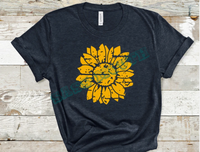 Distressed Sunflower - N