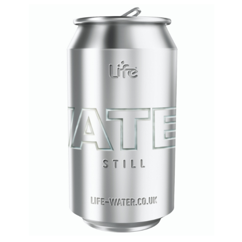 Life Canned Still Water 330ml