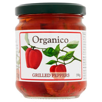 Organico Roasted Peppers 190g