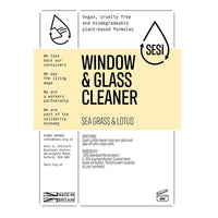 SESI Window & Glass Cleaner (per 100ml)