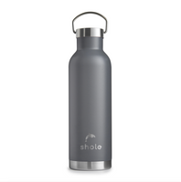 Shole Stainless Steel Vacuum Insulated Reusable Drinks Bottle