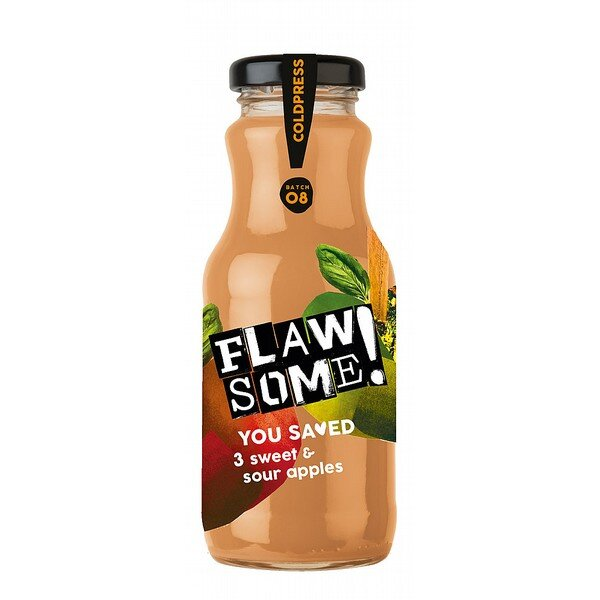 Flawsome! Sweet & Sour Apple Juice (Various Sizes)