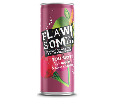 Flawsome! Apple & Sour Cherry Bubbly 250ml