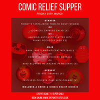 Comic Relief Supper Adult