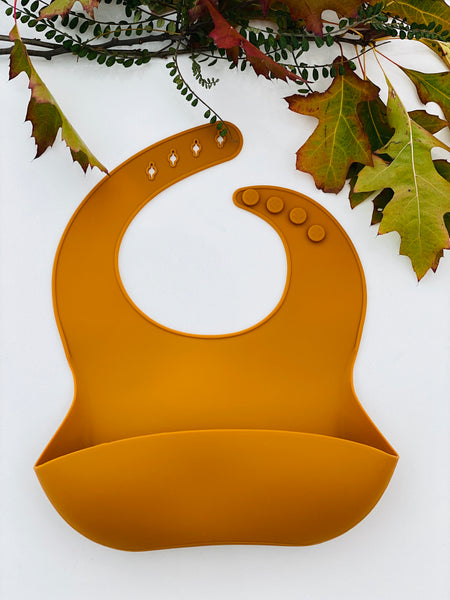 Deluxe Silicone Bib | Set of 2
